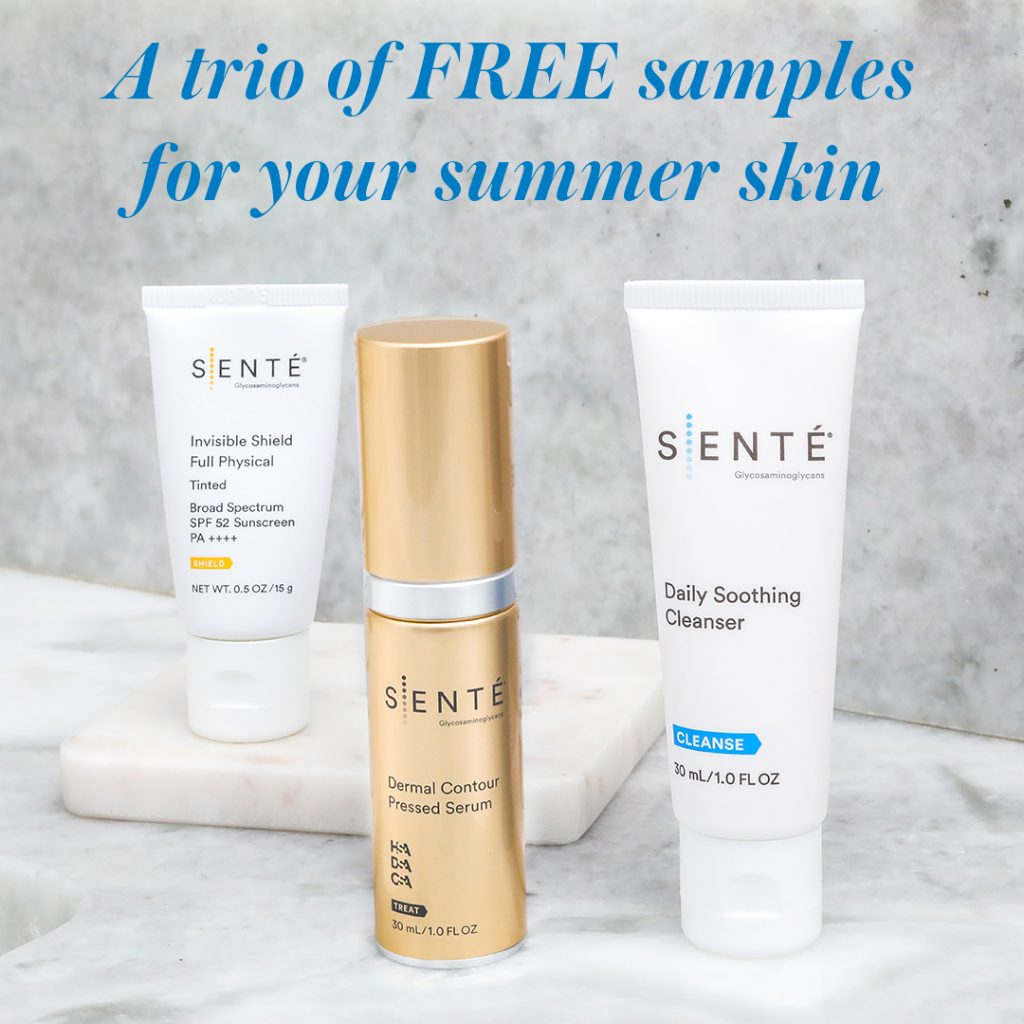 sente summer promotion skin care valrico fl