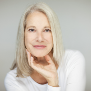 woman who uses medical grade skin care products in valrico florida